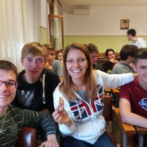 Canossiane: Erasmus Days in stile British